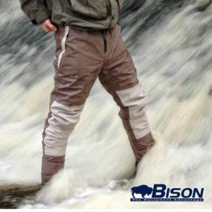 Bison atmungsaktiver Strumpffuß mit wasserfester Hose, Größe M, L, XL, XXL, XXXL