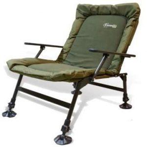 CarpOn Big One Stuhl UND Liege aus Alu - Angeln Fischen Camping Zubehoer