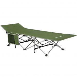 KingCamp Faltbares Campingbett mit Tragetasche