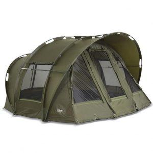 Leopard Bivvy Angelzelt 2 bis 3 Personen Karpfenzelt 2 bis 3 Mann Anglerzelt Carp Dome Fishing Tent 10.000mm