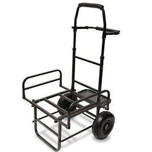 G8DS® Trolley zusammenklappbarer Transportwagen Karpfen Tacklekarre Ausrüstungswagen