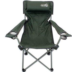 Складной стул Складной стул с подстаканниками Обивка и подлокотники