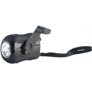 Lunartec Kurbeltaschenlampe: Outdoor Dynamo-Taschenlampe mit 3 LEDs