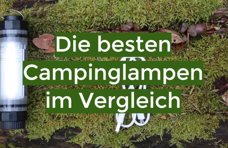 Campinglampe Test 2021: Die besten 5 Campinglampen im Vergleich