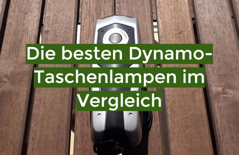 Dynamo-Taschenlampe Test 2021: Die besten 5 Dynamo-Taschenlampen im Vergleich