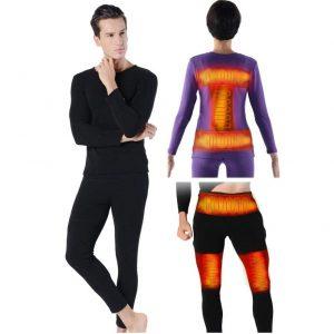 CampHiking Beheizte Pyjama-Sets Für Männer