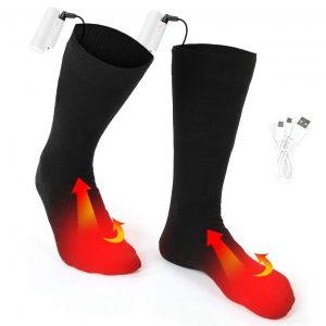 Wiederaufladbare Batterie Beheizte Socken