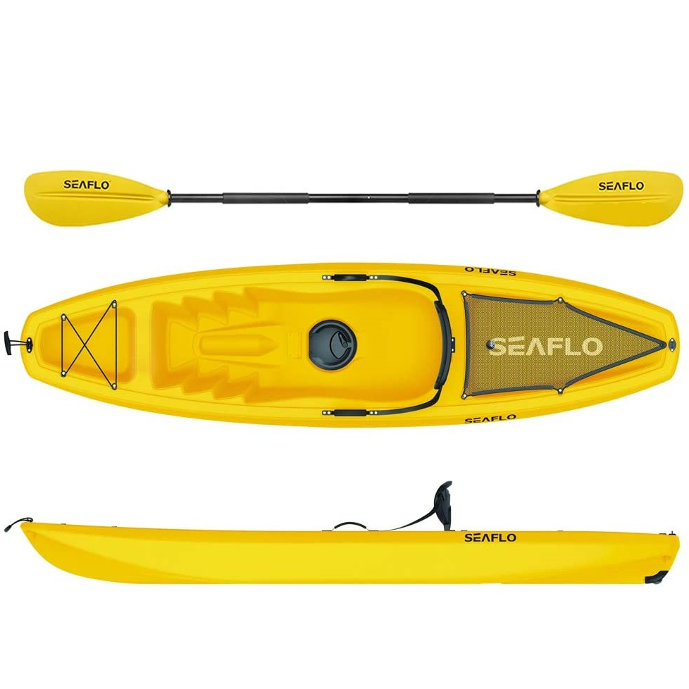 """Seaflo: """"Sit on Top"""" Kayak with Paddle and Rutenhalter"""