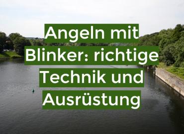 Angeln mit Blinker: richtige Technik und Ausrüstung