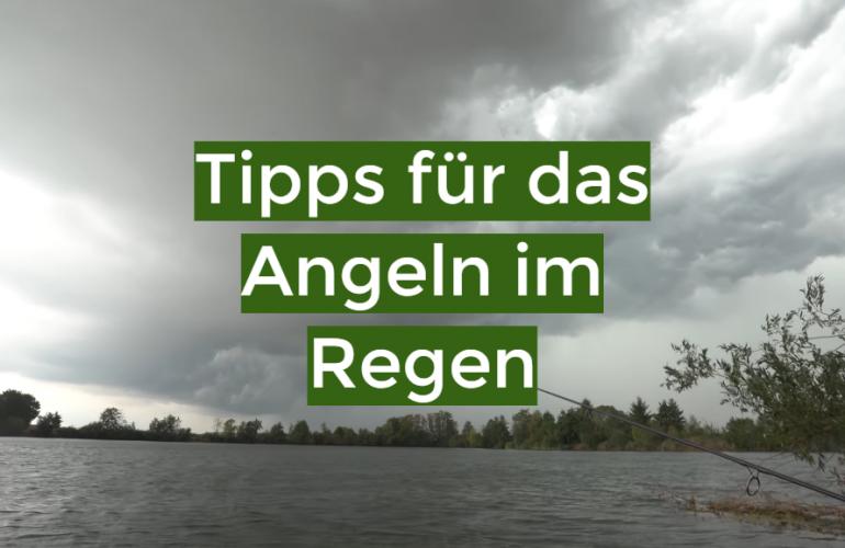 Tipps für das Angeln im Regen
