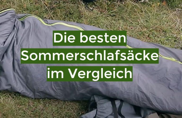 Sommerschlafsack Test 2021: Die besten 5 Sommerschlafsäcke im Vergleich
