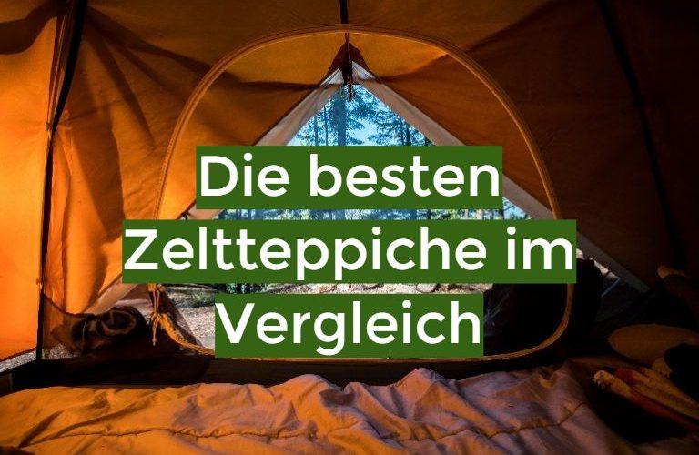 Zeltteppich Test 2021: Die besten 5 Zeltteppiche im Vergleich